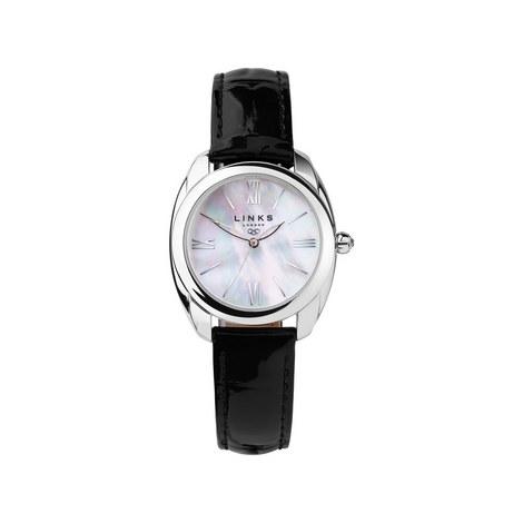 Bloomsbury Vintage Leather Watch, ${color}