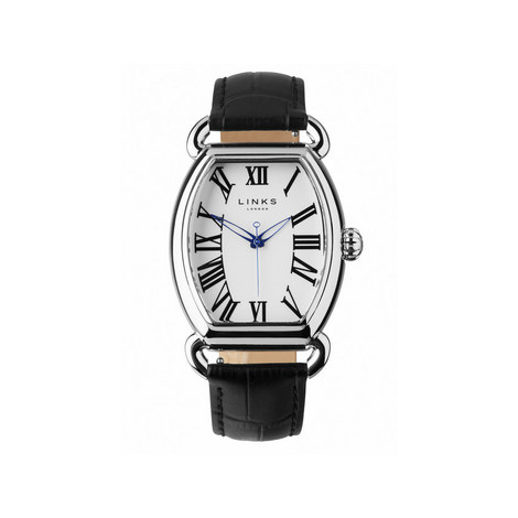 Driver Ellipse Leather Watch, ${color}