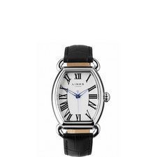 Driver Ellipse Leather Watch