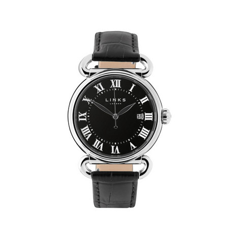 Driver Stainless Steel Watch Large, ${color}