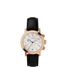 Richmond Gold Plate Chronograph Watch