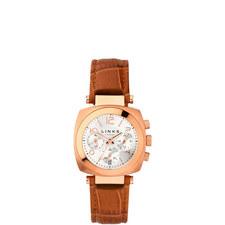 Brompton Leather Chronograph Watch