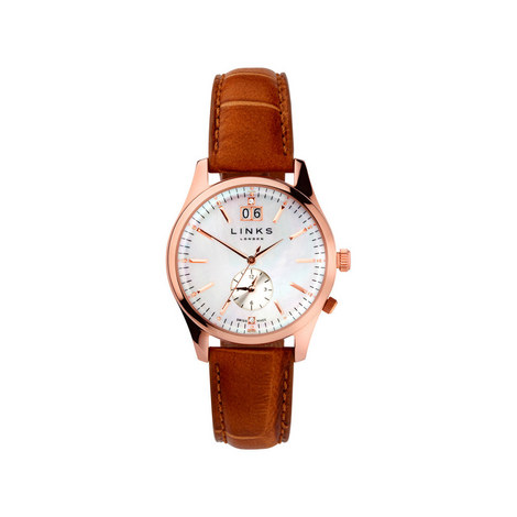 Regent Leather Watch, ${color}