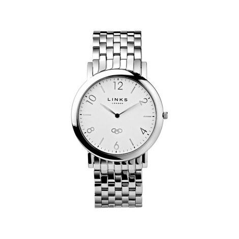 Noble Slim Bracelet Watch Large, ${color}