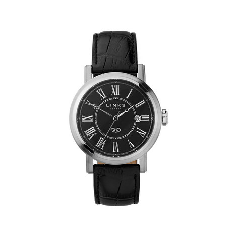 Richmond Leather Dial Watch, ${color}
