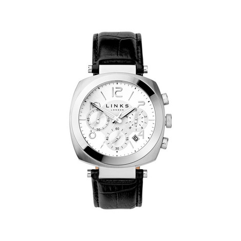 Brompton Monochrome Chronograph Watch, ${color}