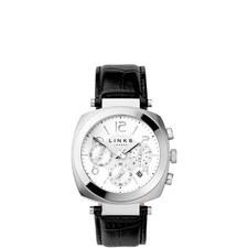 Brompton Monochrome Chronograph Watch