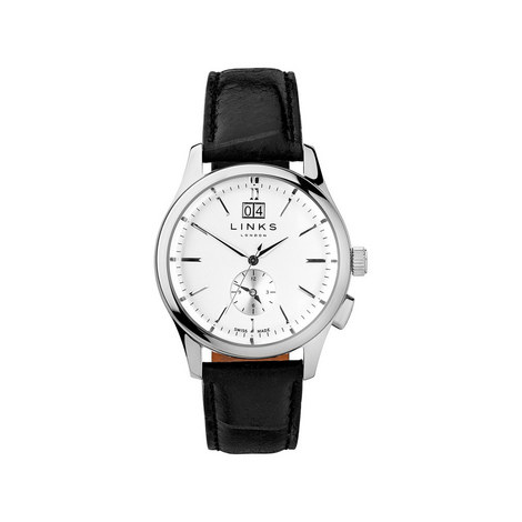 Regent Leather Watch, ${color}