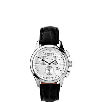 Regent Chronograph Leather Watch