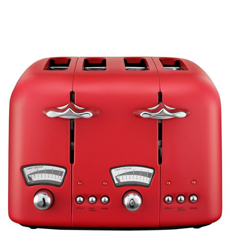 Argento Four Slice Toaster, ${color}