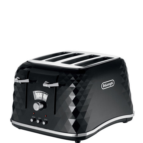 4-Slot Brilliante Faceted Toaster, ${color}