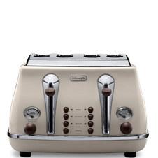 Vintage Cream Toaster 3.18Kg