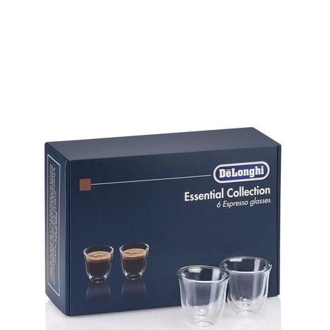 Set of 6 Espresso Glasses, ${color}