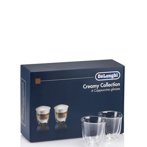 Set of 6 Cappuccino Glasses, ${color}