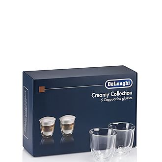 Set of 6 Cappuccino Glasses