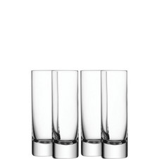 Bar Long Drink Glass Set of 4