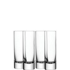 Bar Long Drink Glass Set of 4