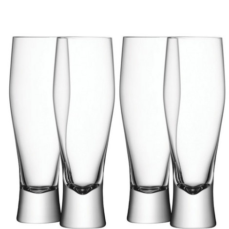 Bar Lager Glass Set of 4, ${color}