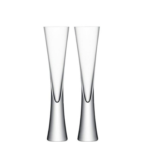 Moya Champagne Flute Set of 2, ${color}