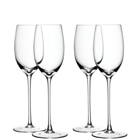 White Wine Glass Set of 4, ${color}