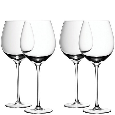 Red Wine Glass Set of 4, ${color}