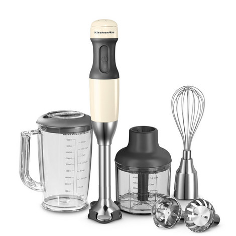5-Speed Hand Blender - Almond Cream, ${color}