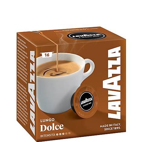 Caffe Crema Lungo Dolcemente A Modo Mio Capsules 16, ${color}