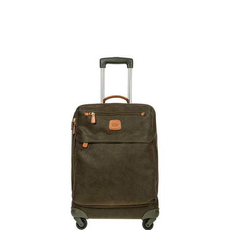 Life Zip Pockets Cabin Luggage 55cm, ${color}
