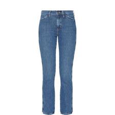 Cult High-Waist Straight Jeans