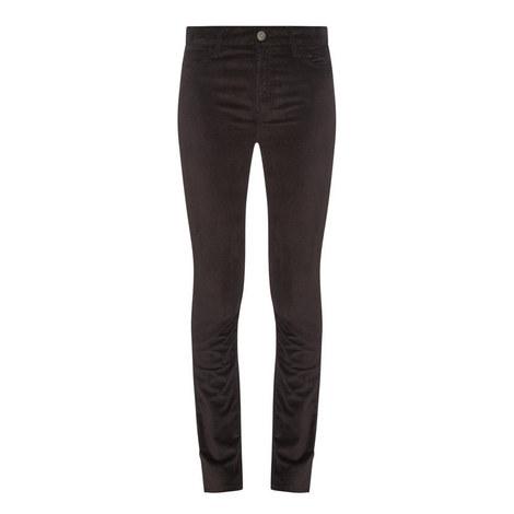 Bridge Velvet Skinny Jeans, ${color}