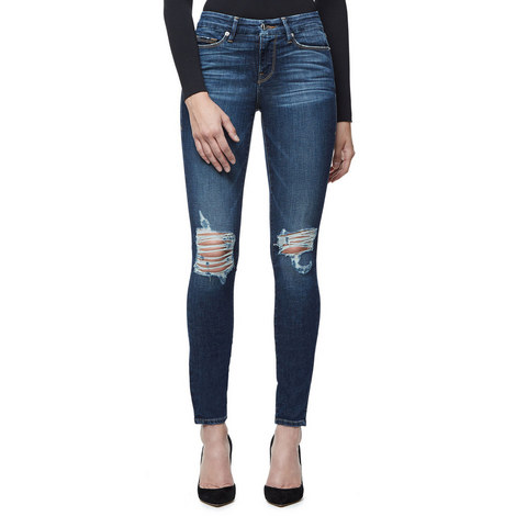 Good Legs Distressed Skinny Jeans, ${color}