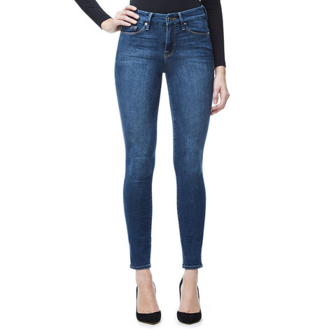 Good Legs Mid Blue Skinny Jeans, ${color}