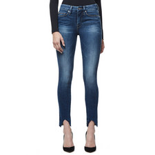 Good Legs Triangular Slit Jeans