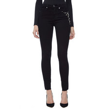 Good Legs Pearl Embellished Jeans