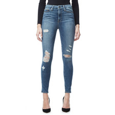 Good Waist Distressed Skinny Jeans
