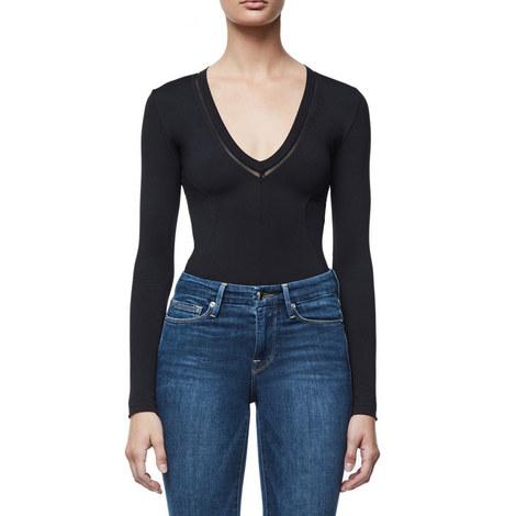 Low Down Plunge Bodysuit, ${color}