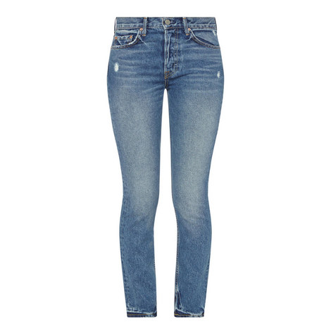 Karolina High-Rise Skinny Jeans , ${color}