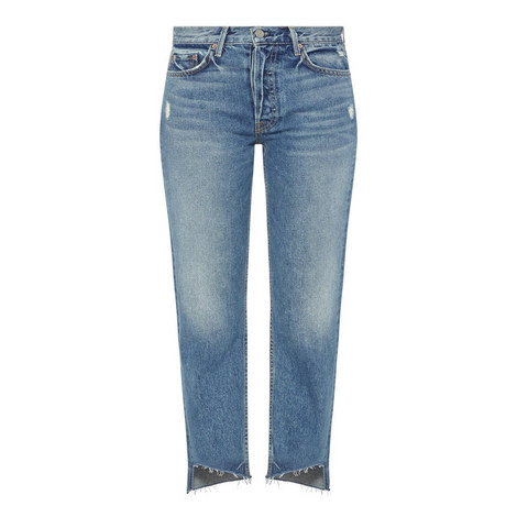 Helena High-Rise Cropped Jeans, ${color}