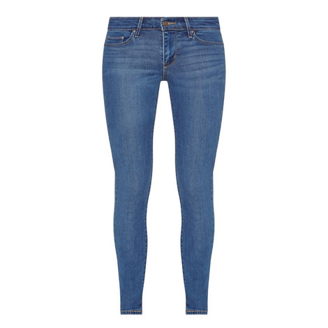 711 Mid-Rise Skinny Jeans, ${color}