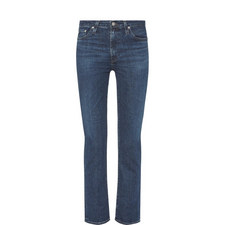 Isabelle Cropped Straight Fit Jeans