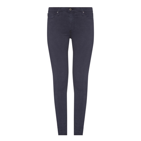 Farrah High-Rise Skinny Jeans, ${color}
