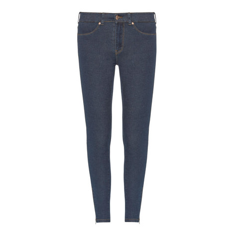 Domino Zip End Jeans, ${color}