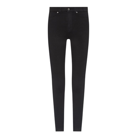 Solitaire High Rise Skinny Jeans, ${color}
