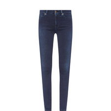 Super High-Waisted Skinny Jeans