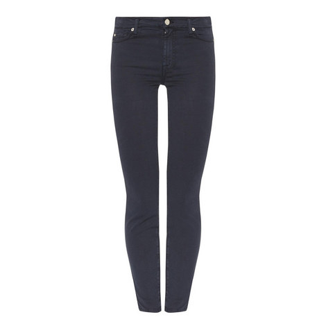 High Waisted Skinny Crop Jeans, ${color}