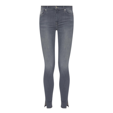 High-Waisted Skinny Cropped Jeans, ${color}