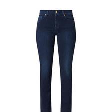 Rozie High Rise Slim Illusion Jeans