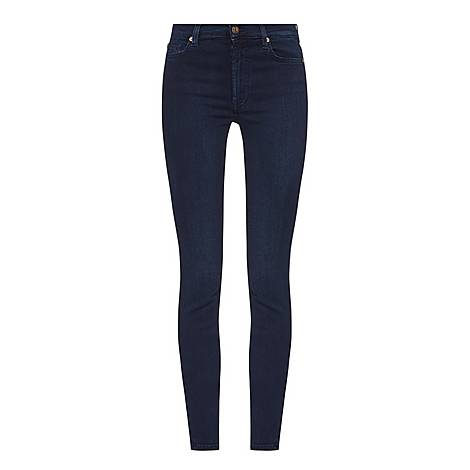 High-Waisted Skinny Jeans, ${color}