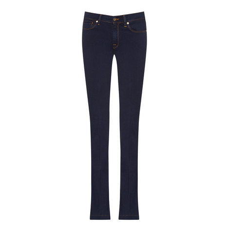 Charlize Flared Bootcut Jeans, ${color}