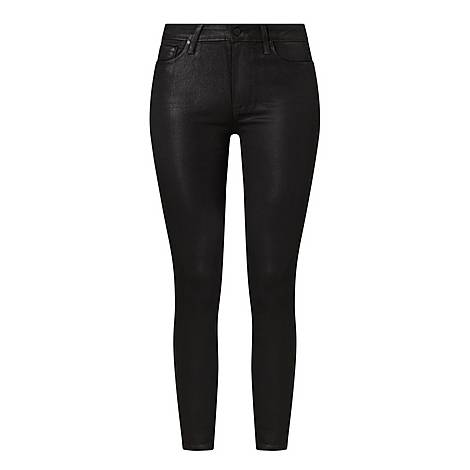 Hoxton Coated Skinny Jeans, ${color}